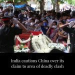 """India on Thursday cautioned China against making """"exaggerated and untenable clai... 5"""