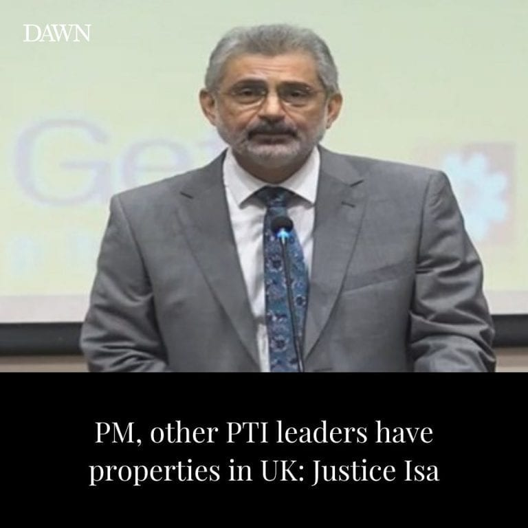 Justice Qazi Faez Isa on Tuesday dropped a bombshell by alleging that his search... 3