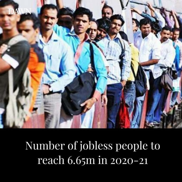 The number of unemployed people in the country has been estimated to reach 6.65 ... 3