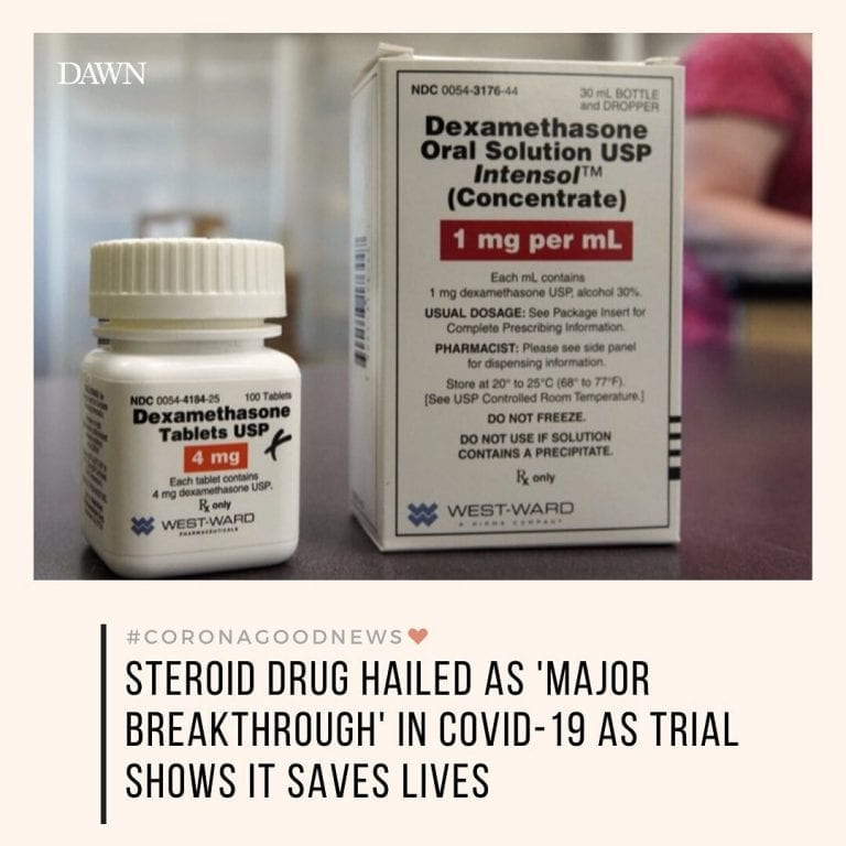 The steroid dexamethasone was shown on Tuesday to be the first drug to significa... 3