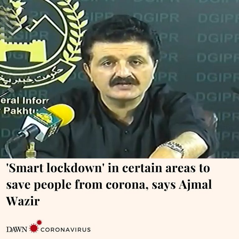 Adviser to the Khyber Pakhtunkhwa chief minister on information Ajmal Wazir said... 3