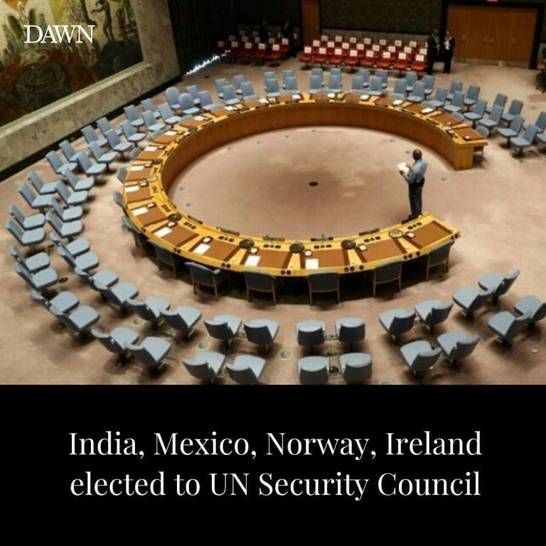 The UN General Assembly elected on Wednesday four new members of the Security Co... 3