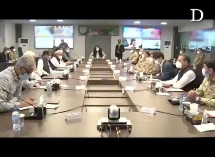 Prime Minister Imran Khan visited National Command and Operation Centre (NCOC) t... 3
