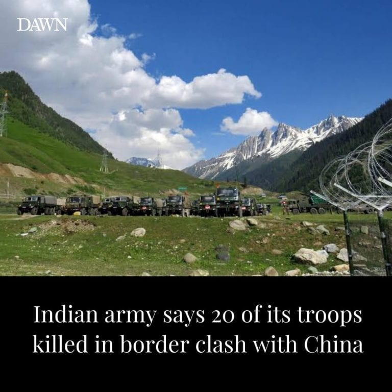 """At least 20 Indian soldiers have been killed in a """"violent faceoff"""" wi... 3"""