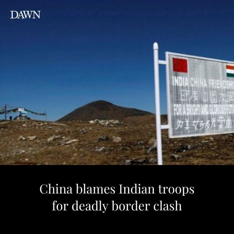 """At least 20 Indian soldiers were killed in a """"violent face-off"""" with Chinese for... 3"""