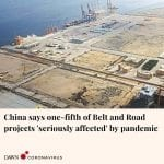 About 20 per cent of projects under China's ambitious Belt and Road Initiative (... 5