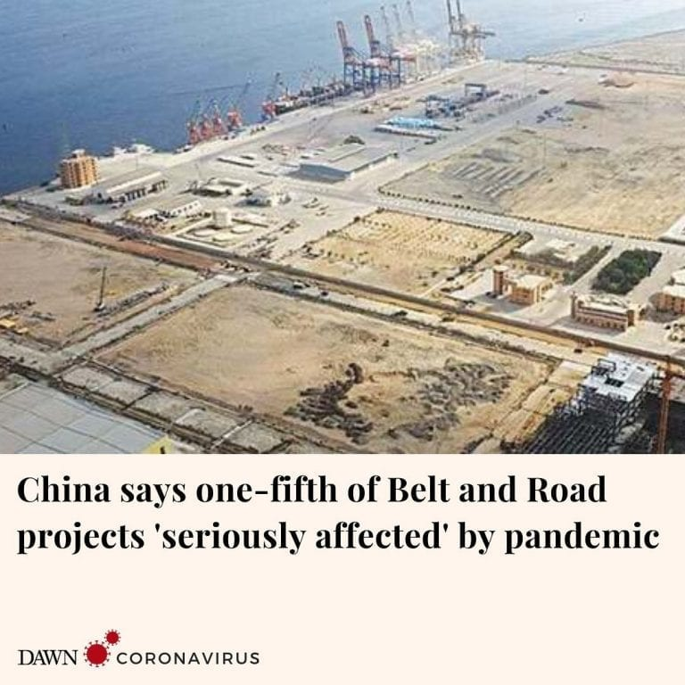 About 20 per cent of projects under China's ambitious Belt and Road Initiative (... 3