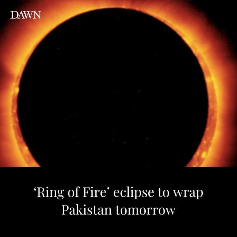 """An annular solar eclipse, popularly known as the """"Ring of Fire"""", will ... 3"""