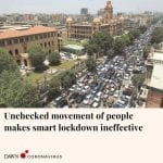 The smart lockdown imposed by the Sindh government to contain the spread of coro... 6