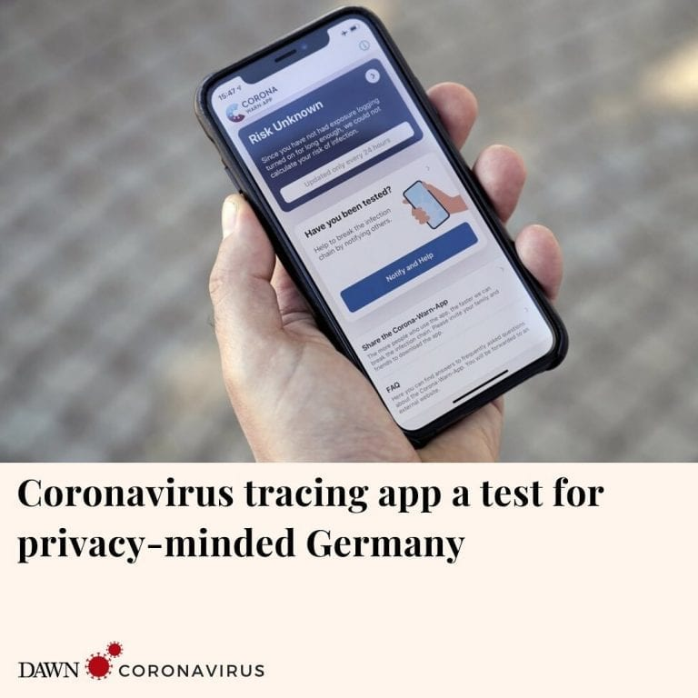 Germany has launched a coronavirus tracing app that officials say is so secure e... 3