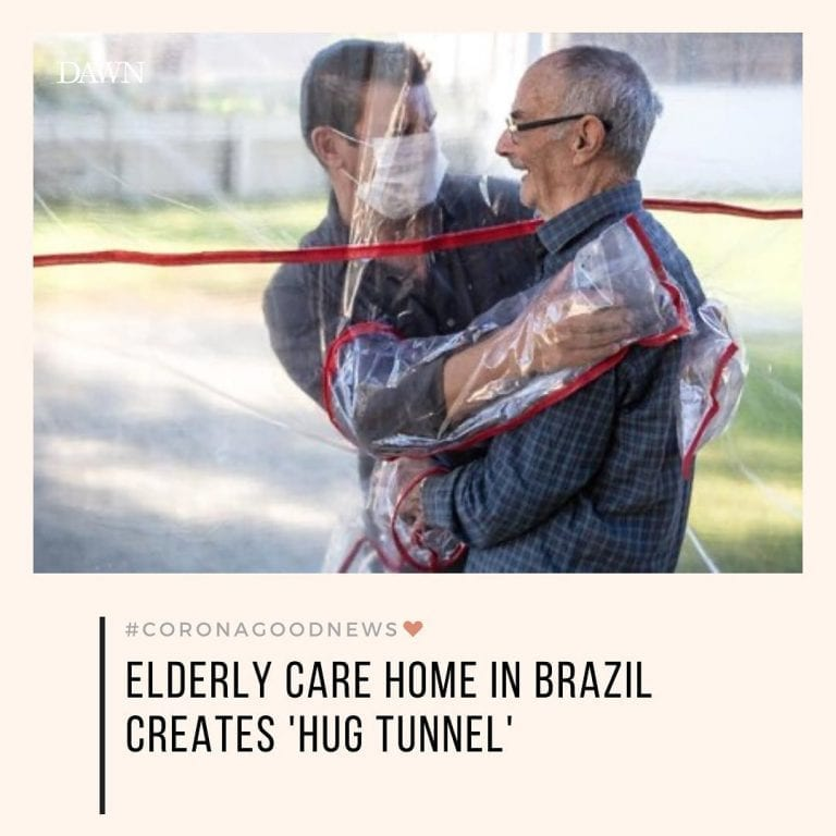 A care home for elderly people in southern Brazil has come up with a creative wa... 3