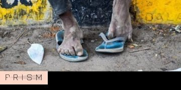 Across India, there are men and women with swollen feet. At a quarantine centre ... 1