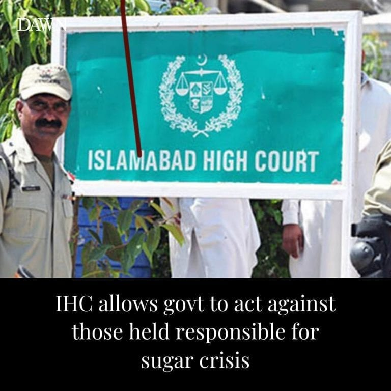 The Islamabad High Court (IHC) on Saturday dismissed a petition filed by leading... 3