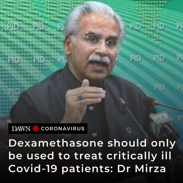 Special Assistant to the Prime Minister on Health Dr Zafar Mirza has said that s... 3