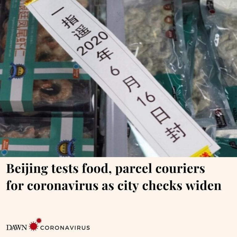 Officials in Beijing are carrying out nucleic acid tests on all food and parcel ... 3