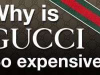 Why is Gucci so expensive?