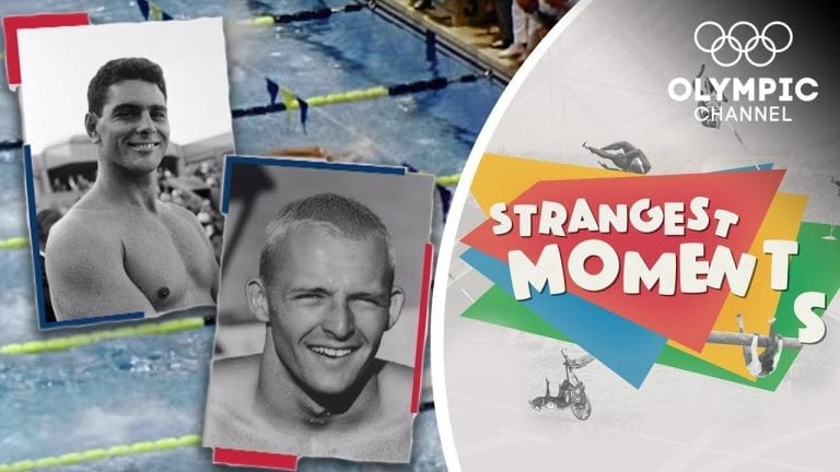 The Race That Changed Olympic Swimming   Strangest Moments