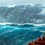 10 Monster Waves CAUGHT ON CAMERA