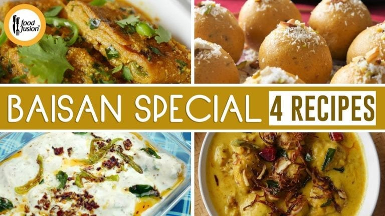 4 Baisan Special Recipes By Food Fusion