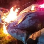 Activists topple & BURN statue of Confederate Gen. in DC