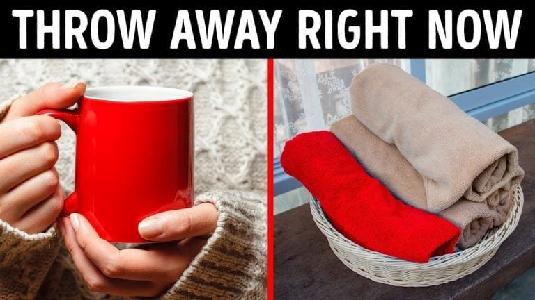 30 Things You Need to Throw Away from Your House