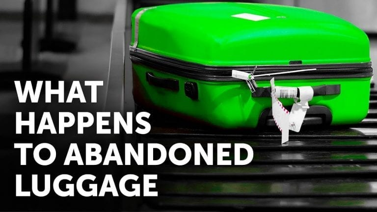 What Happens to Luggage When Nobody Takes It