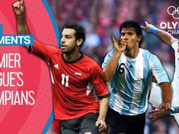 Premier League players scoring at the Olympics   Top Moments