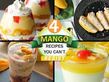 4 Mango Recipes you cant resist By Food Fusion