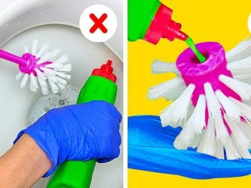 28 GENIUS CLEANING IDEAS YOU'D WISH YOU KNEW SOONER