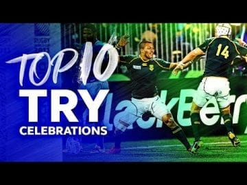 HILARIOUS MOVES 🤣 Best Try Celebrations in Rugby - Selfies, Signatures and Dancing 🕺 4