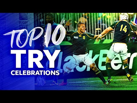 HILARIOUS MOVES 🤣 Best Try Celebrations in Rugby - Selfies, Signatures and Dancing 🕺 1