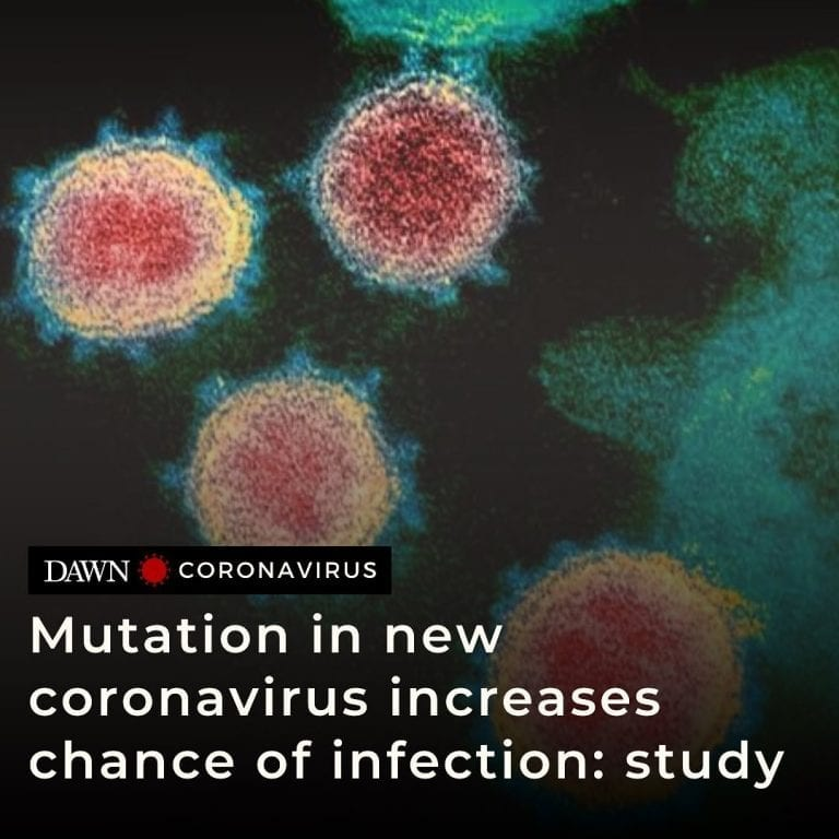 A specific mutation in the new coronavirus can significantly increase its abilit... 3