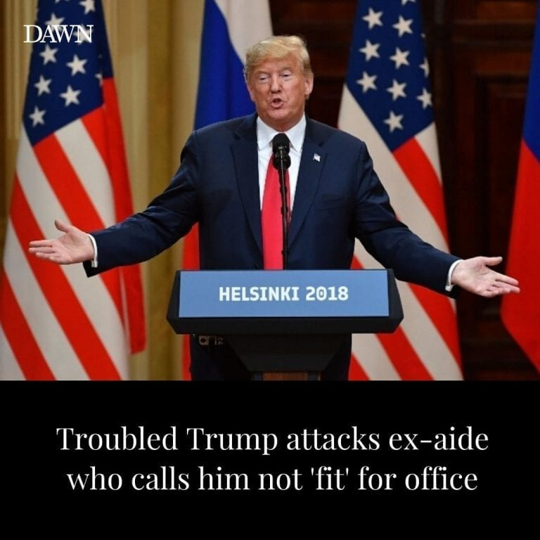 Donald Trump's presidency was in turmoil on Thursday after top ex-aide John... 3