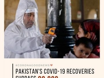 Pakistan's Covid-19 recoveries have surpassed 80,000, according to the governmen... 11