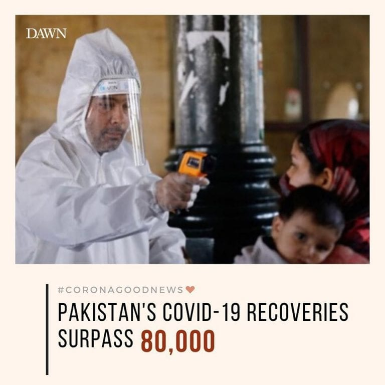 Pakistan's Covid-19 recoveries have surpassed 80,000, according to the governmen... 3