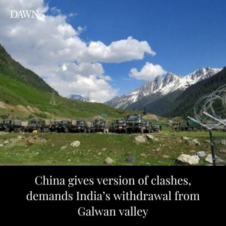 China has demanded a withdrawal of Indian personnel and facilities from Galwan v... 3