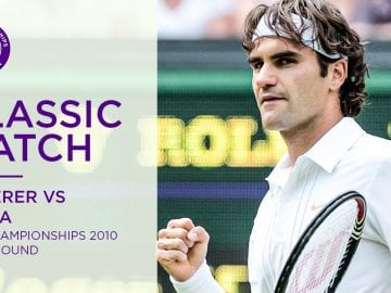 Roger Federer vs Alejandro Falla | Wimbledon 2010 first round | Full Match