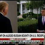 Trump on Russian bounties: 'I think it's a hoax'