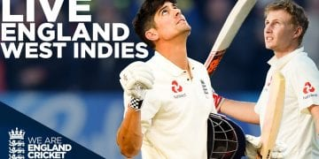 🔴  LIVE England v West Indies Test Classic | First Day Night Test | Edgbaston 2017 | England Cricket 4