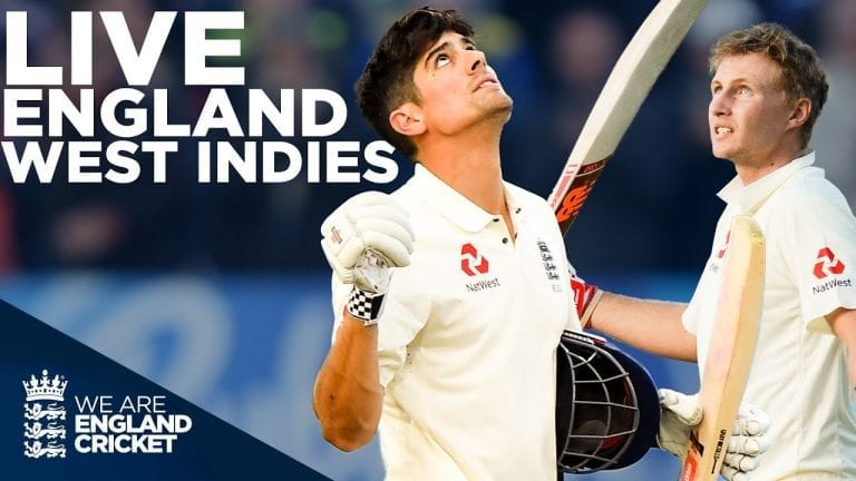🔴 LIVE England v West Indies Test Classic | First Day Night Test | Edgbaston 2017 | England Cricket 1