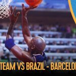 The USA's Dream Team v Brazil - Men's Basketball | Barcelona 1992 Replays