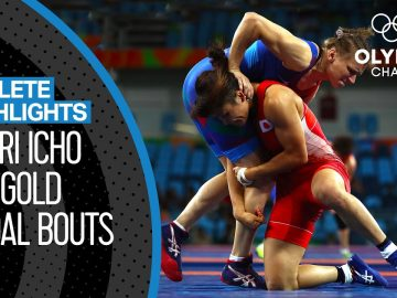 Kaori Icho 🇯🇵 - Undefeated at four Olympic Games | Athlete Highlights 1