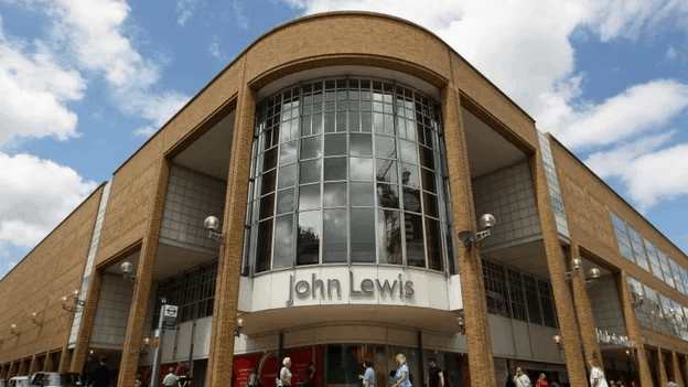 John Lewis to close eight stores, putting 1,300 jobs at risk