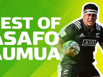 WRECKING BALL 😳 Best Breaks, Runs and Tries by Asafo Aumua 8