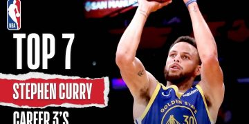 Curry's TOP 7 Career 3's | #Curry7