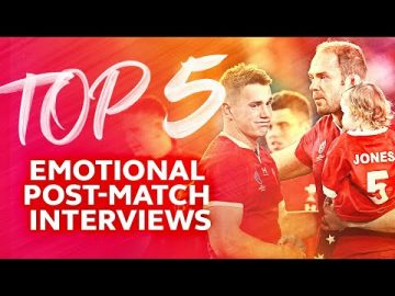 THE FEELS 😢 Top Five Emotional Post-Match Rugby Interviews 3