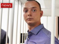 Russian ex-journalist on trial for treason