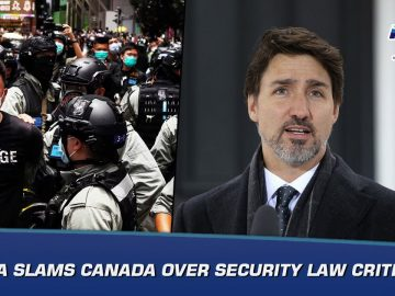 China slams Canada over security law criticism | News Bulletin | Indus News