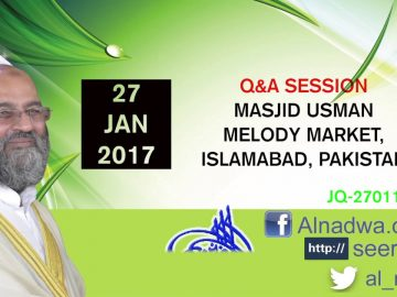 27 Jan 2017 Q&A Session JQ-270117