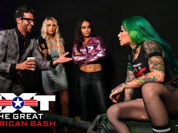 Robert Stone tries to sign Shotzi Blackheart: NXT Great American Bash, July 8, 2020